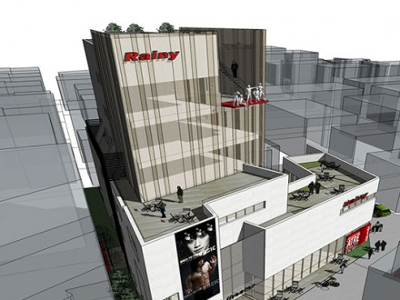 청담 Rainy 빌딩 신축설계